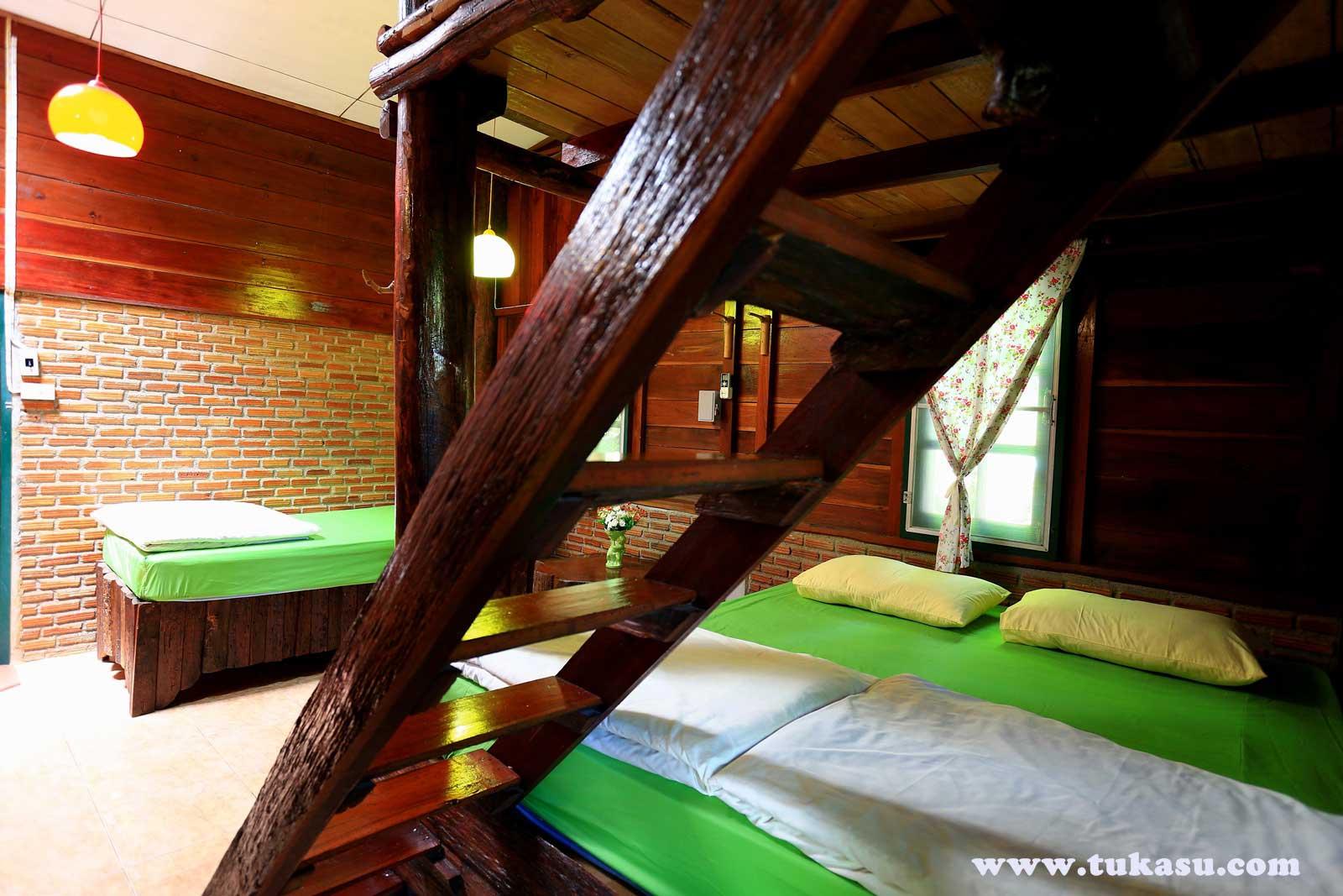 บ้านเงาไผ่ : ตูกะสู คอทเทจ ที่พัก อ.อุ้มผาง จ.ตาก