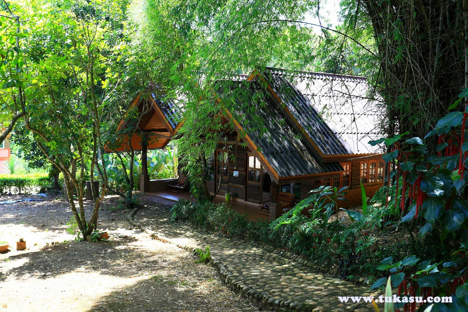บ้านกลางไพร : ตูกะสู คอทเทจ ที่พัก อ.อุ้มผาง จ.ตาก